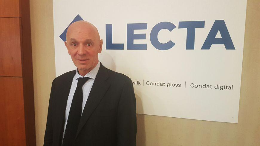 Andrea Minguzzi, président du groupe Lecta.