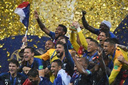L'équipe de France de football championne du monde en 2018