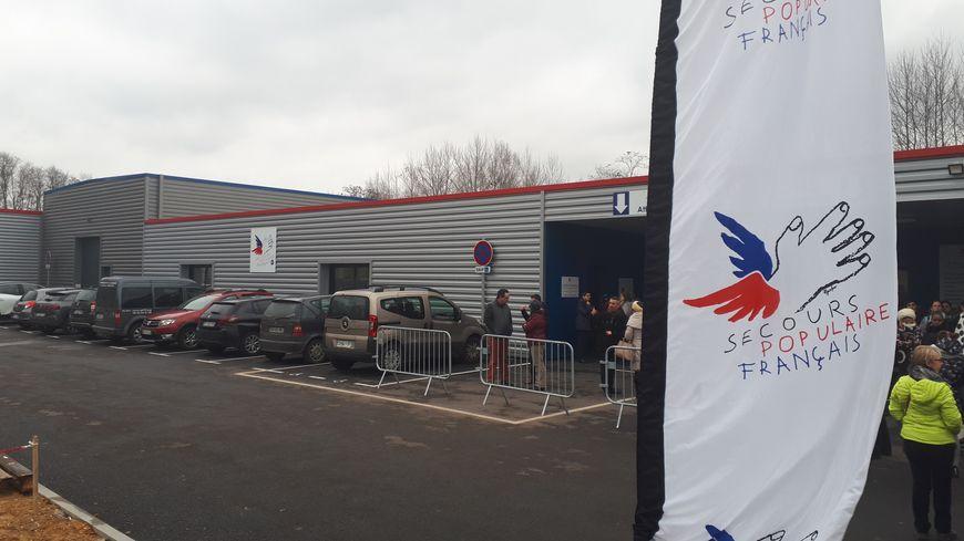 Les nouveaux locaux du Secours Populaire, en zone Nord de Limoges