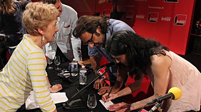 Des autographes