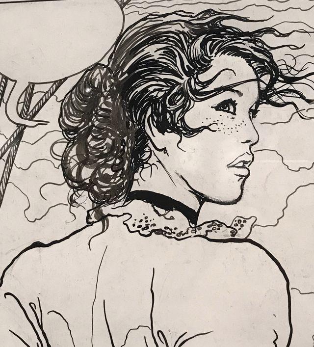 Les femmes, chez Manara dans l'exposition Manara, itinéraire d'un maestro de Pratt à Caravage