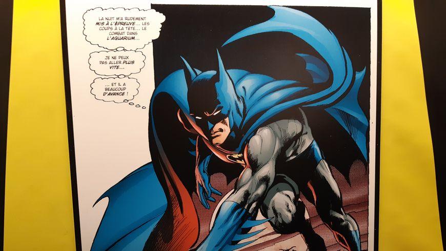 L'exposition Batman au Festival d'Angoulême.