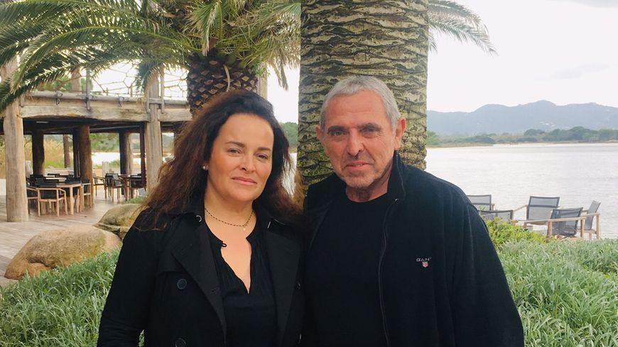 Evelaine Fontana et César Filippi