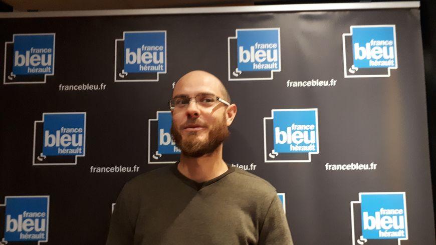 Kévin Soulié, Co- gérant de la GAEC Cévenn'Algues