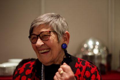 Ginette Kolinka, rescapée du camp d'Auschwitz
