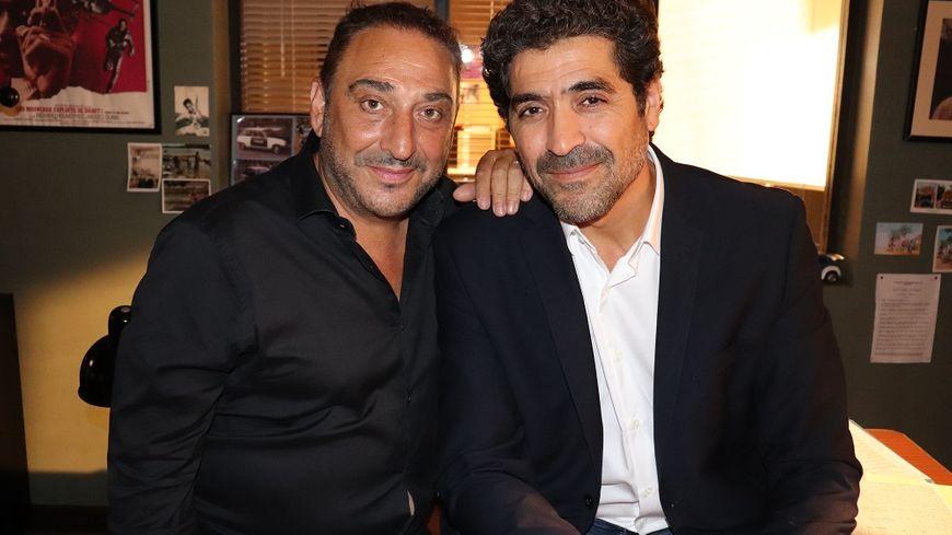 Dani Lary et Abdelhafid Metalsi, l'acteur qui joue Cherif