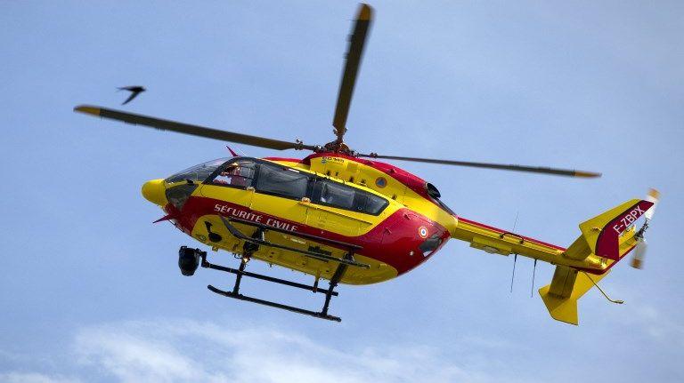 Un hélicoptère de la Sécurité civile. Illustration.