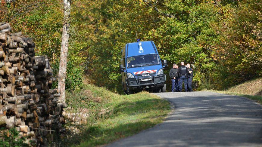 Gendarmes postés sur le site du barrage de Sivens. Photo d'illustration.