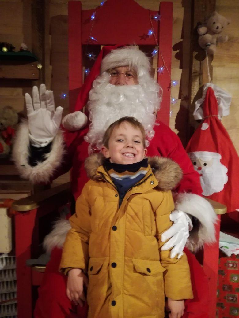 Antoine a remporté le prix de la plus belle lettre au Père Noël
