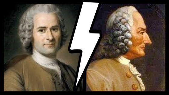 Jean-Jacques Rousseau et Jean Philippe Rameau