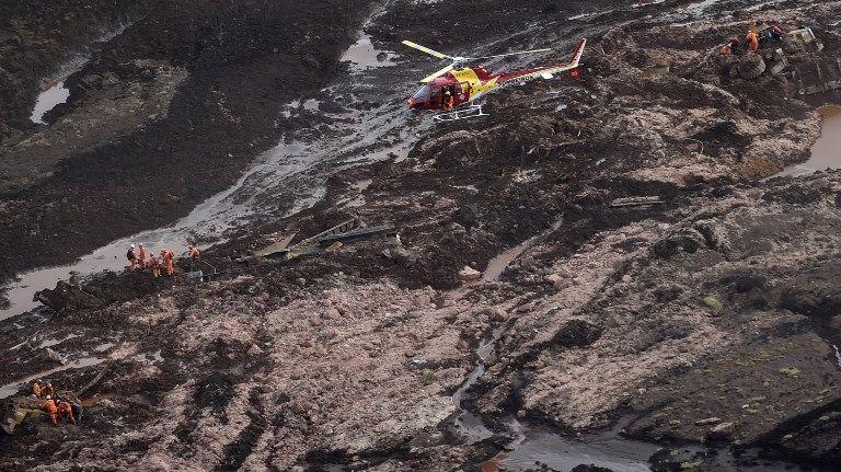 Rupture d'un barrage minier au Brésil