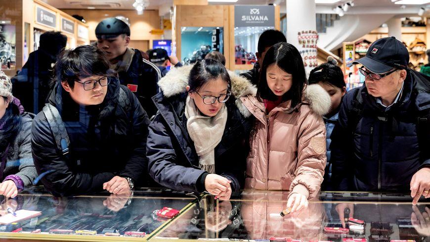 En 2017, on a compté 2 millions de visiteurs chinois en France. quelques milliers dans l'Yonne