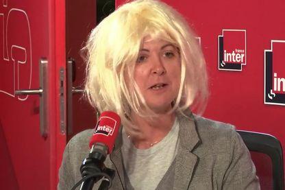 Madame Morano, alias Charline Vanhoenacker, de retour en studio