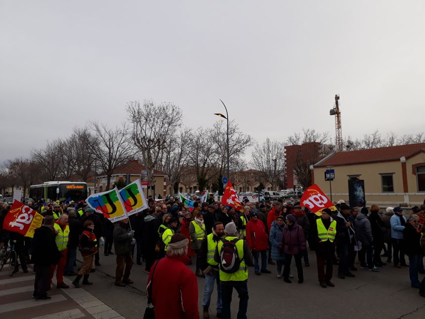 Les retraités ont défilé pour leur pouvoir d'achat, dans les rues de Valence