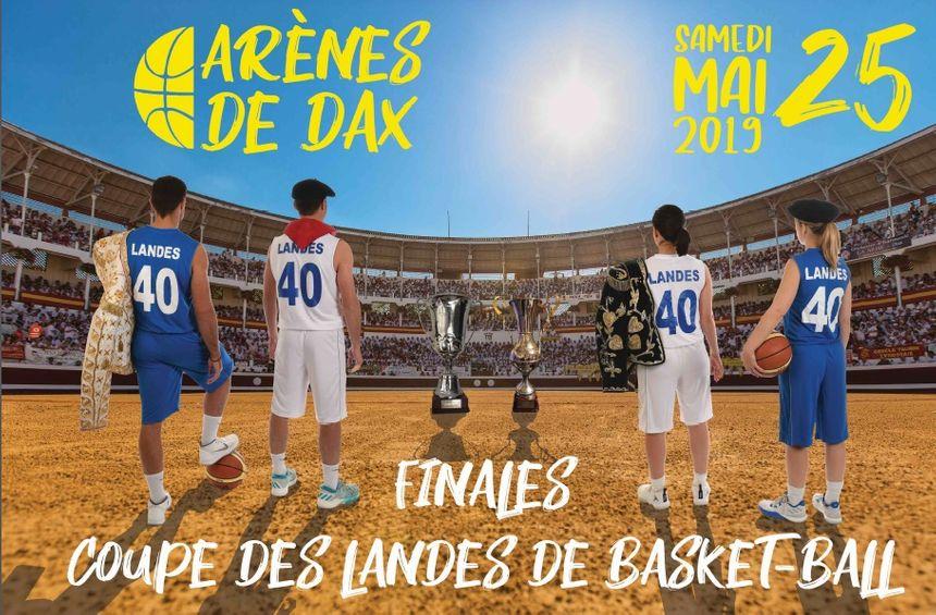 Affiche de la finale de la Coupe des Landes, édition 2019