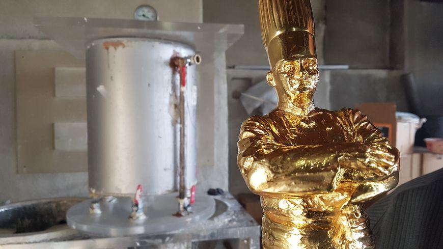 Le Bocuse d'Or mesure 45cm de long et pèse 4kg5... un produit made in Drôme !