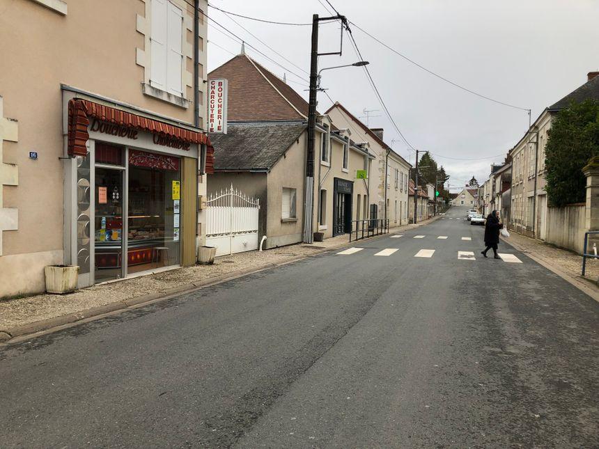 Plusieurs commerçants se sont installés dans la rue principale