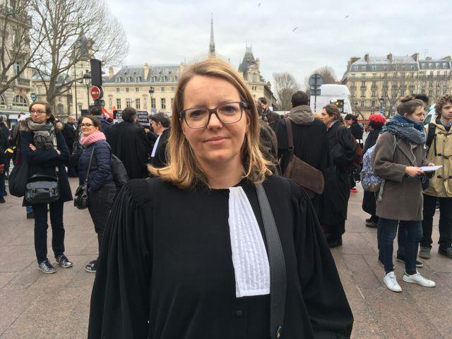 Charline Bonnot, avocate et bâtonnier au barreau de la Haute-Saöne