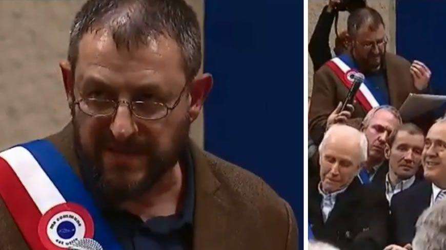 Grand débat national : le coup de gueule du maire de Saint-Cirgues (Lot) face à Emmanuel Macron