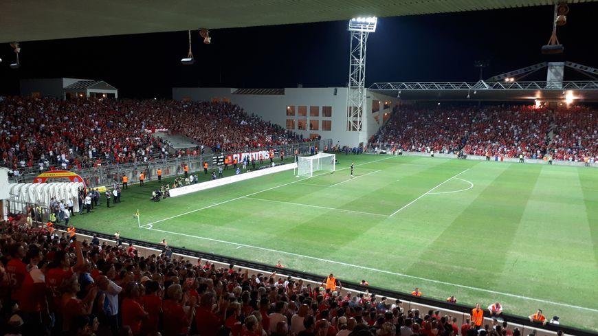 Le stade des Costières, à Nîmes
