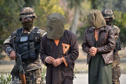 Arrestation de miliciens Talibans il y a quelques jours à Jalalabad en Afghanistan
