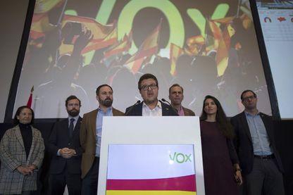 Francisco Serrano, dirigeant du parti d'extrême droite VOX pour la région Andalousie