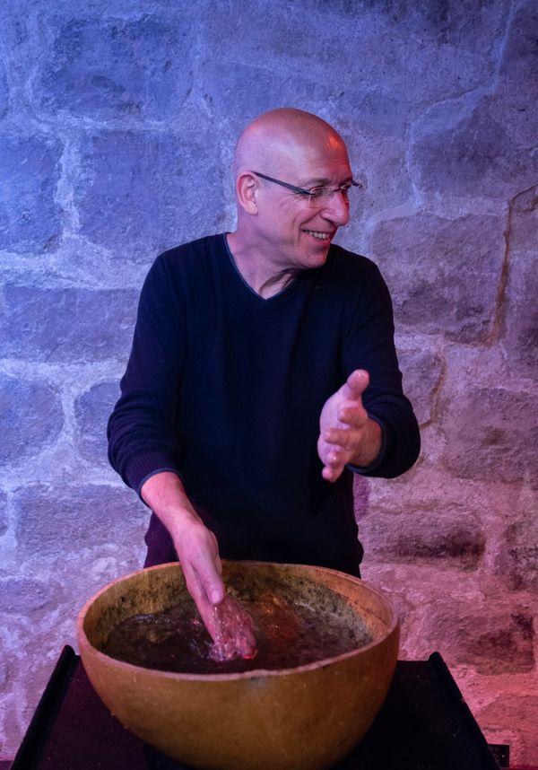 Gérard Siracusa par Dominique Gourdier : L'Eau