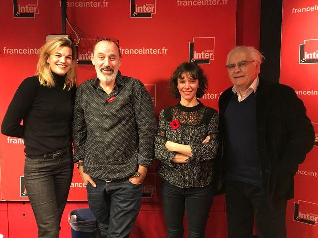 """""""Vous Les Femmes"""", de g. à d. : Marie-Sophie Ferdane, Daniel Morin, Emily Loizeau, Albert Algoud"""