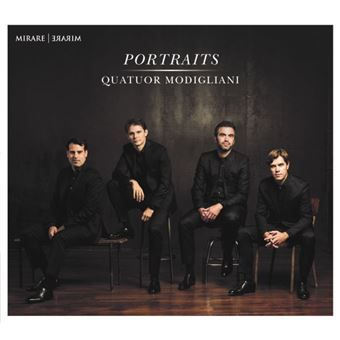 Quatuor Modigliani : Amaury Coeytaux, Loïc Rio, violons – Laurent Marfaing, alto – François Kieffer, violoncelle