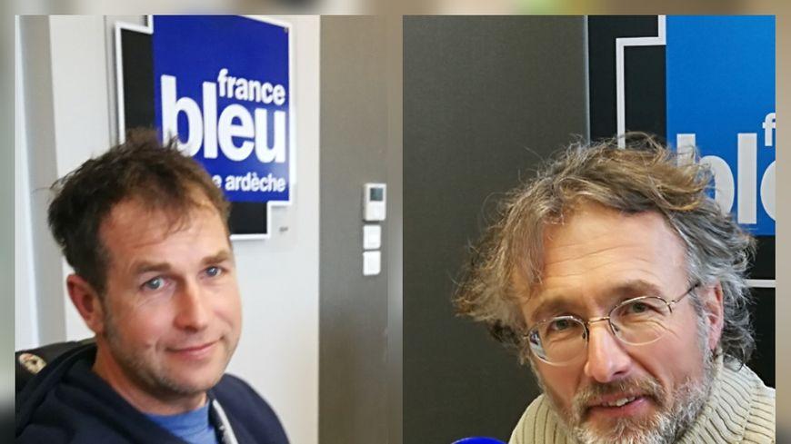 Sébastien Blache et Jean François Chosson