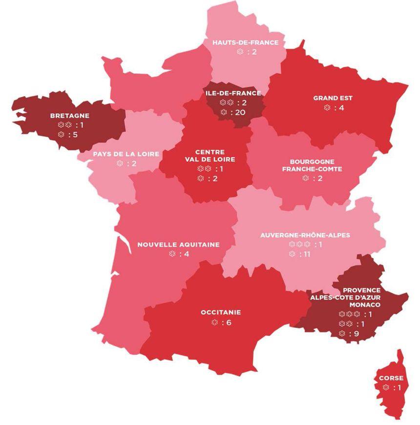 Guide Michelin Les Chefs Qui Gagnent Et Perdent Des Etoiles En Auvergne Rhone Alpes En 2019