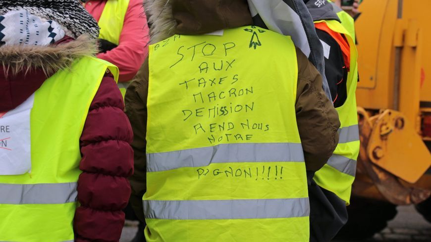 Mouvement des Gilets Jaunes (photo d'illustration).