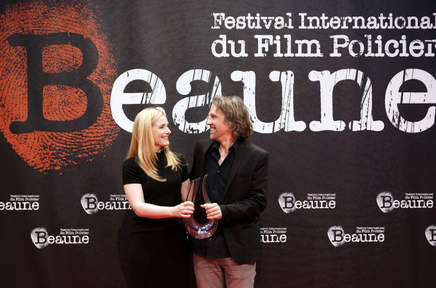 Natacha Régnier et Samuel Tilman au Festival International du film policier de Beaune 2018