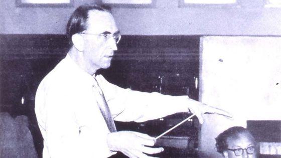 Hans Rosbaud en répétition