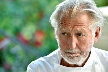 Le chef cuisinier français Pierre Gagnaire