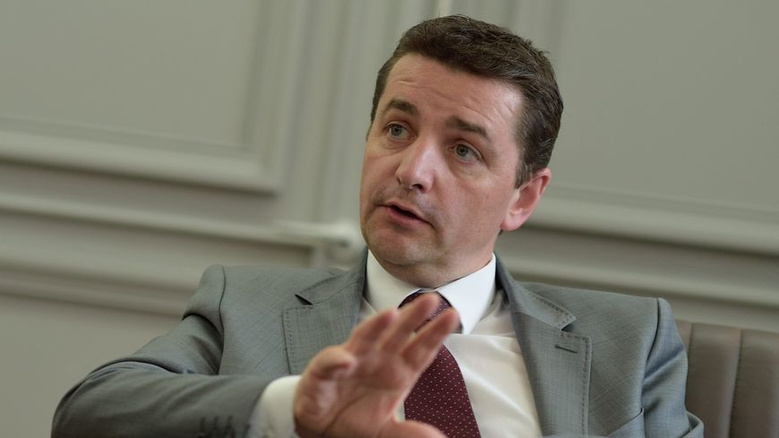 Le maire de Saint-Etienne Gaël Perdriau