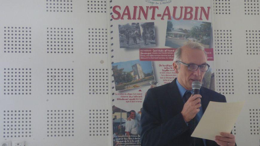 Le maire de Saint-Aubin Stéphane Delpeyrat a annoncé sa démission ce dimanche 13 janvier, pendant la cérémonie des vœux.