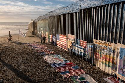 Le mur près de Tijuana en Californie