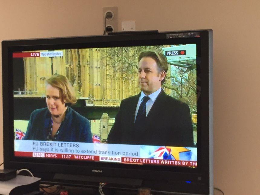 Les Marty regardent quasiment en continu les chaînes d'informations britanniques
