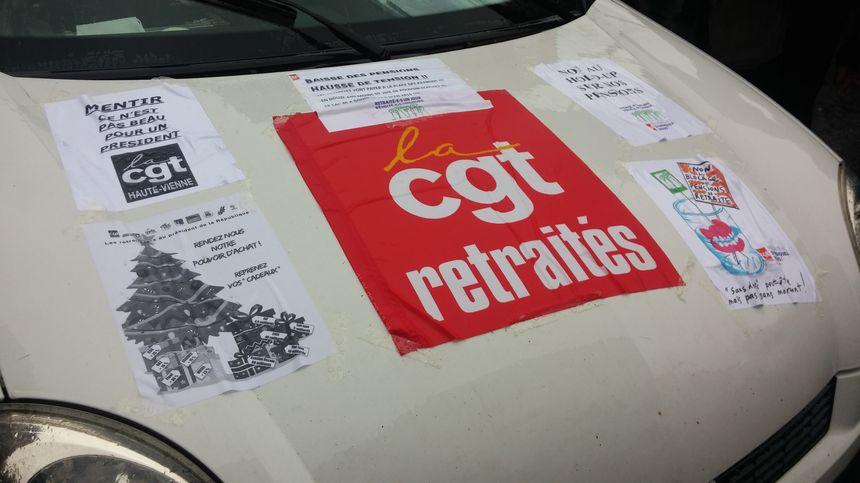 Une quinzaine d'organisations syndicales avaient appelé à manifester à Limoges.