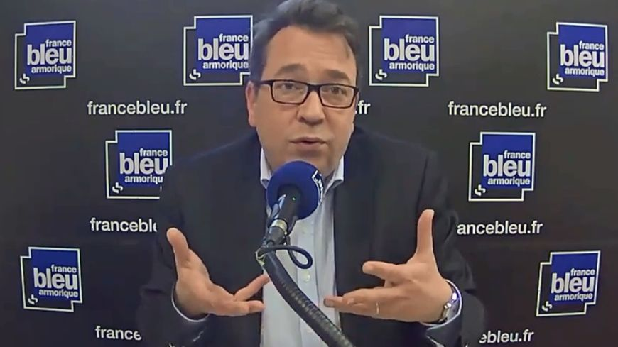 Pierre Breteau, maire de Saint-Grégoire et président de l'association des Maires d'Ille-et-Vilaine
