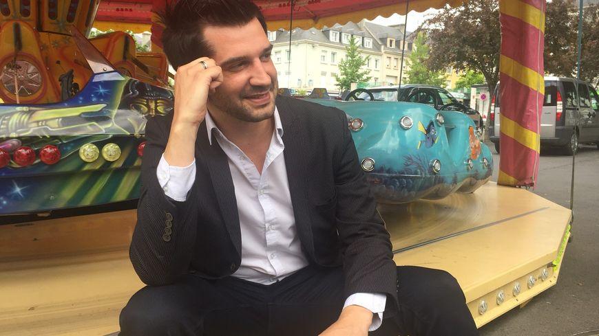 Mathieu Johann-Lepresle, ambassadeur de la Voix de l'enfant