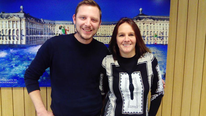 Chef Romain Schlumberger et Valérie Varet