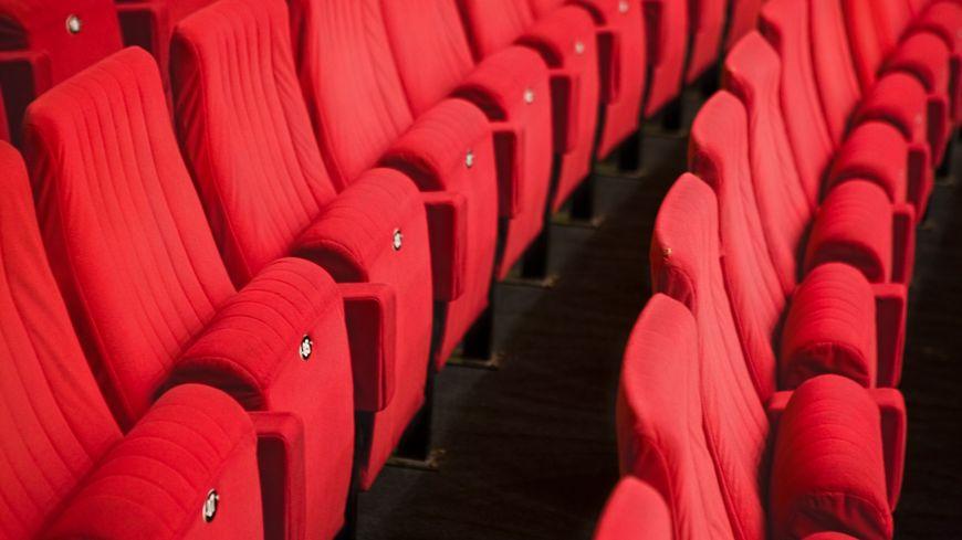 Des sièges de cinéma - illustration