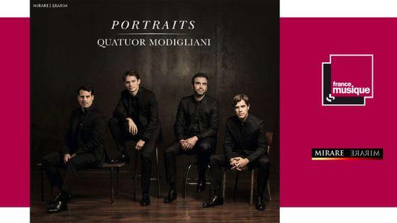 """""""Portraits"""" Quatuor Modigliani"""
