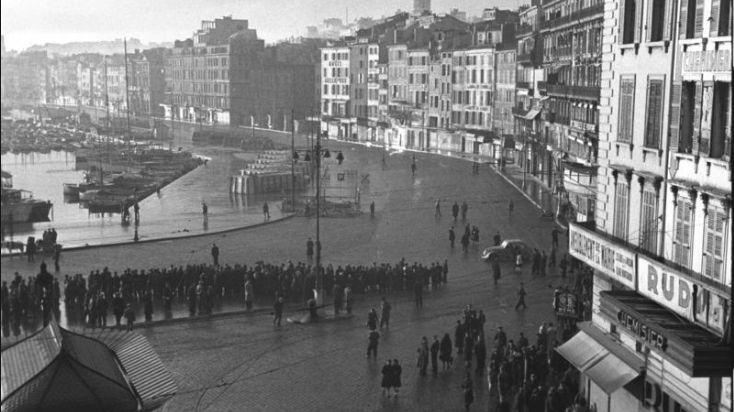 La rafle du Vieux-port de Marseille, le 22 et 24 janvier 1943