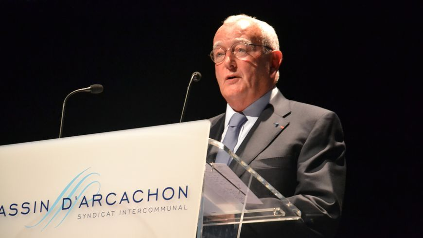 Michel Sammarcelli maire de Lège-Cap-Ferret et président du SIBA