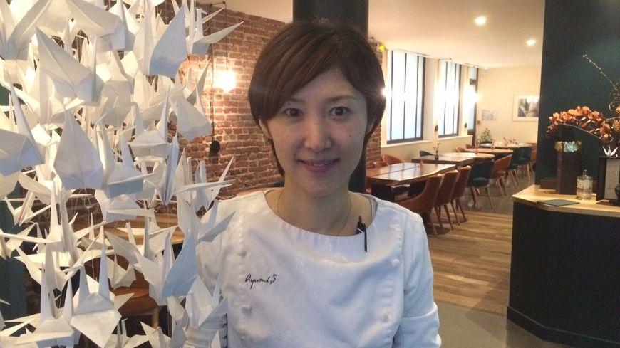 La chef pâtissière Ayumi Sugiyama