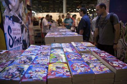 Le manga est devenu l'un des genres les plus populaires de la BD en France (Ici un stand à Japan Expo en 2018)