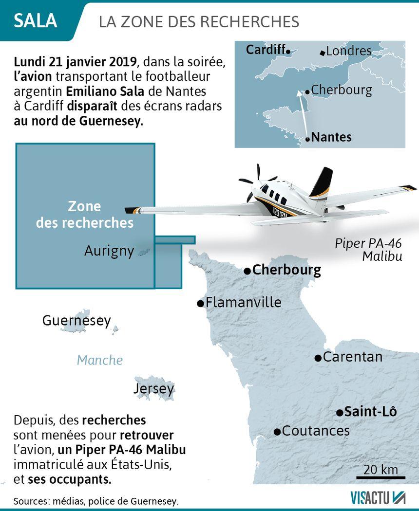 Disparition d'Emiliano Sala : des débris d'avion retrouvés sur une plage à Surtainville.